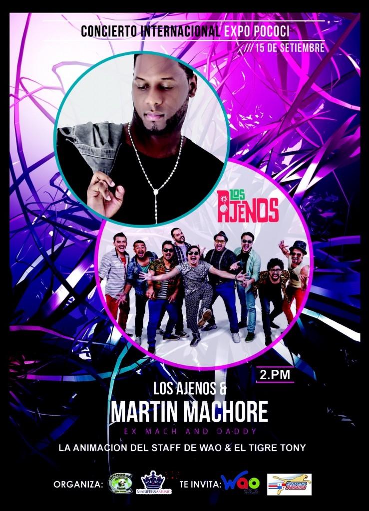 Martin Machore y Los Ajenos - Expo Pococí 2015