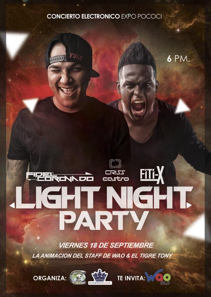 Light Night Party - Expo Pococí 2015