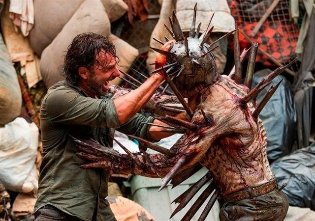 Difunden clip extendido de la 8ª temporada de The Walking Dead