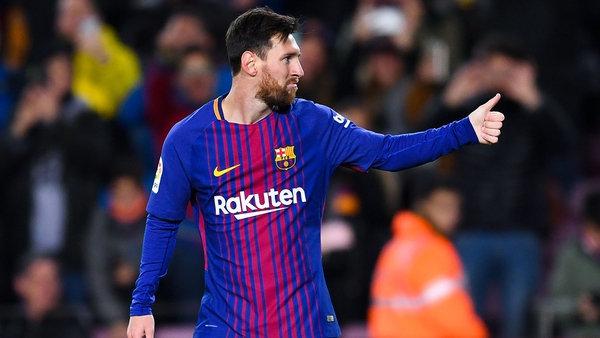Barcelona, con Messi, juega por la Copa del Rey
