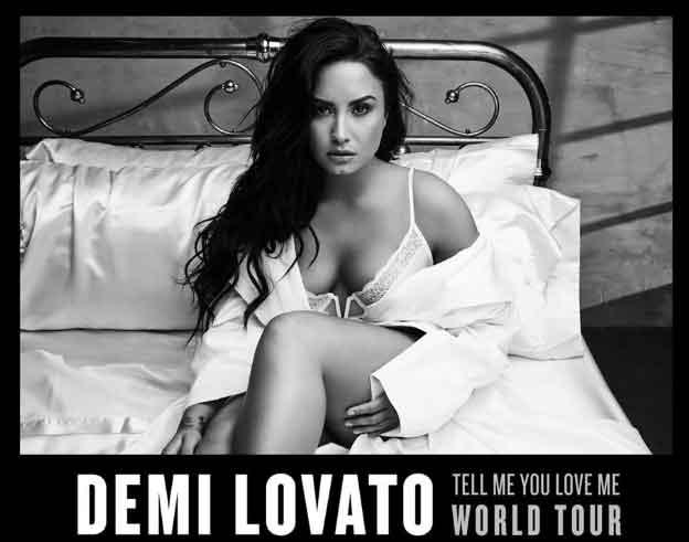Demi Lovato anuncia concierto en Chile
